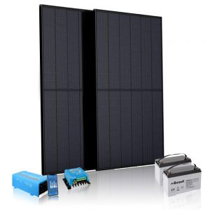 Off-grid (accu) zonnepanelen sets